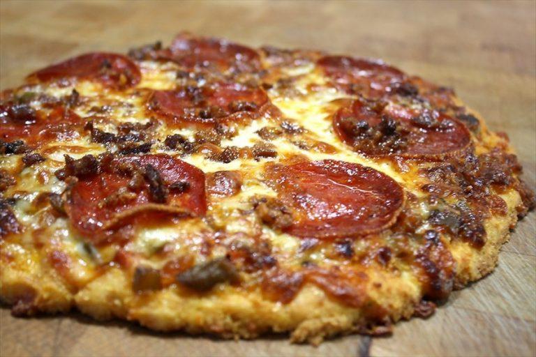 Pizza sem Glúten de Antipasto Calabrese