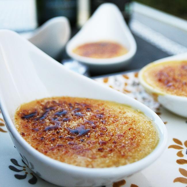 Crème Brûlée com Foie Gras de Pato