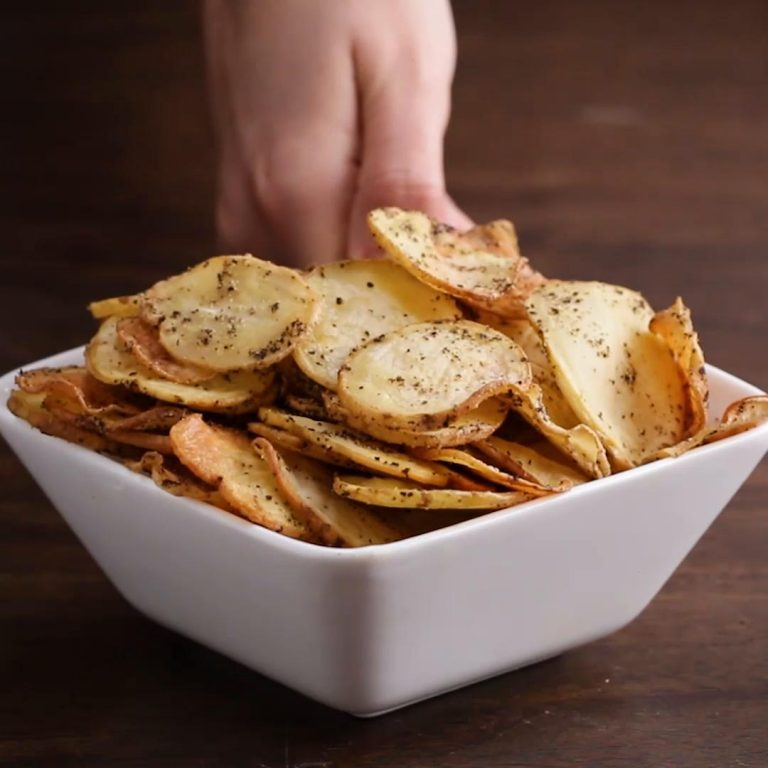 Batatas com Condimento Balsâmico Branco e Sal