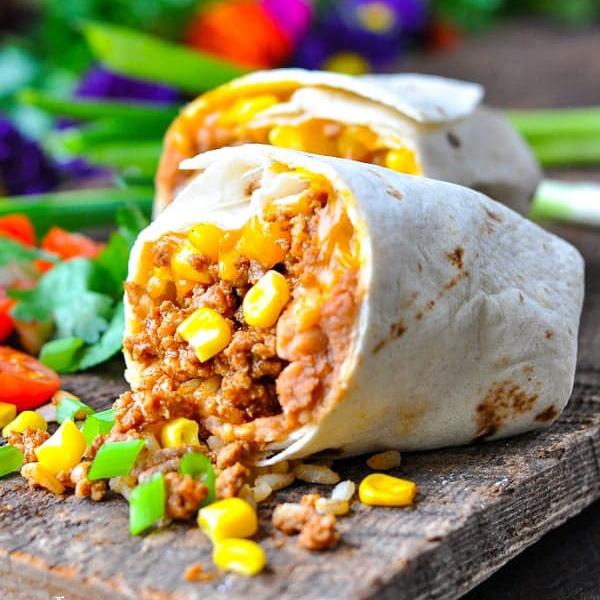 A receita mais fácil de Burrito!