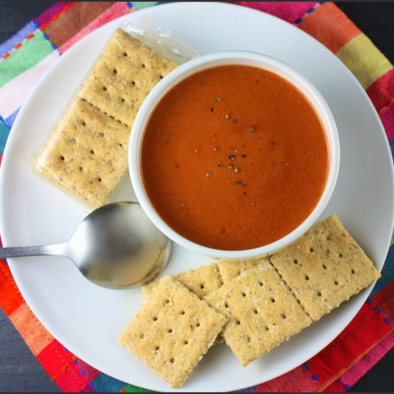 Sopa de tomate e ketchup picante