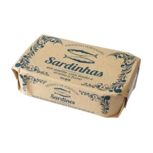 Sardinhas Fumadas em Azeite com Limão bySocilink 120g