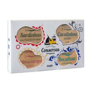 "bySocilink Nº05 Canned Fish Set ""Petiscada Luxo"" 495g"