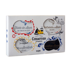 bySocilink Nº07 Canned Fish Set Signature Edition I 4x120g