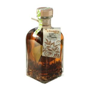 bySocilink Pepper and Bay Leaf Infused Cider Vinegar 250ml