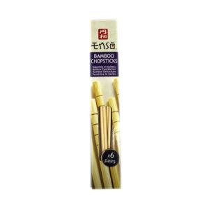 Pauzinhos Chineses em Bambu Enso 6 pares