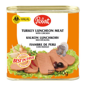 Robert Halal Turkey Lancheon Meat 340g