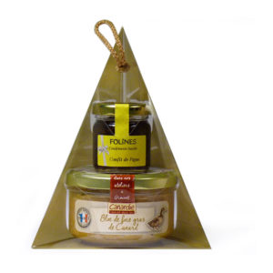 Canardie Block of Duck Foie Gras and Mini Fig Chutney 170g