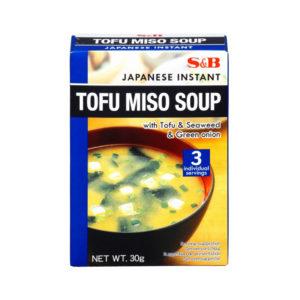 Sopa Instantanea Tofu Miso S&B 30g