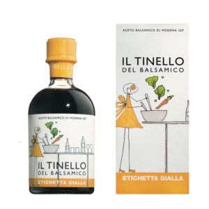 Il Tinello del Balsamico Yellow Label Balsamic Vinegar Of Modena IGP 250ml