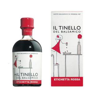 Vinagre Balsâmico Modena Red IGP Il Tinello del Balsamico 250ml