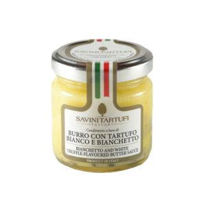 Savini Bianchetto And White Truffle Flavored Butter Sauce 30g