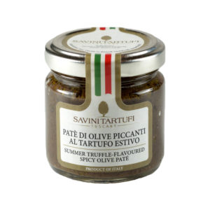 Savini Summer Truffle Flavored Spicy Olive Pate 90g