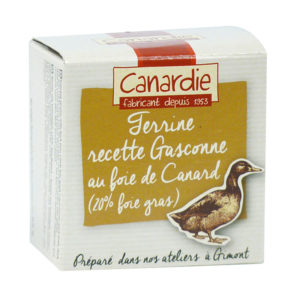 Canardie Gascony Terrine with Duck Foie Gras 65g