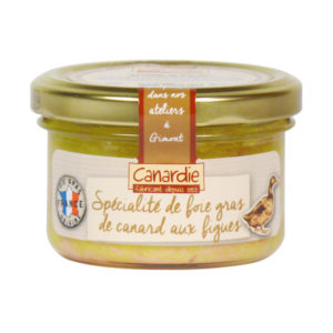 Canardie Speciality of Duck Foie Gras with Figs 90g