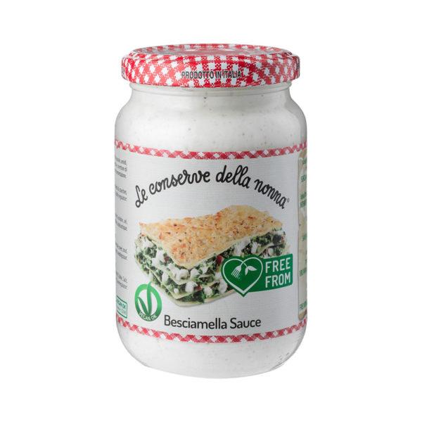 Le Conserve della Nonna Béchamel Sauce Free from Allergens  340g