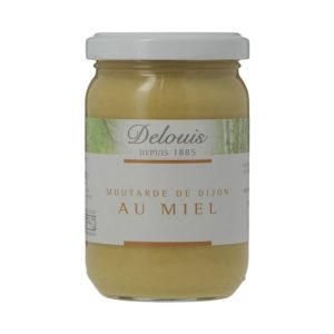 Mostarda de Dijon com Mel Biológica Delouis 200g