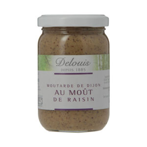 Delouis Organic Mustard with Grape Must 200g