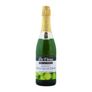 De Vina Sparkling White Grape Drink 750ml
