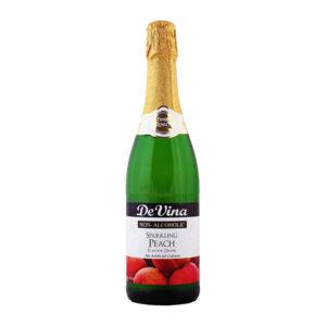 De Vina Sparkling Peach Drink 750ml
