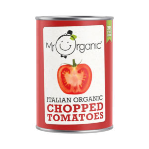 Mr Organic Chopped Tomato 400g