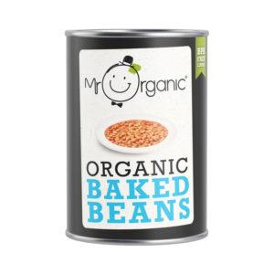 Mr Organic Baked Beans 400g