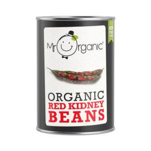 Mr Organic Red Kidney Beans 400g