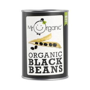 Mr Organic Black Beans 400g