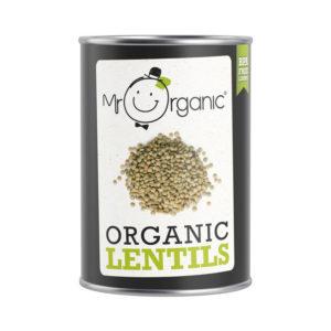 Lentilhas Biológicas Mr Organic 400g