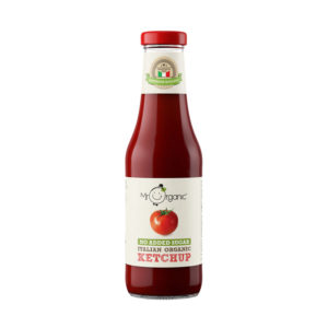 Ketchup sem Açúcar Biológico Mr Organic 480g