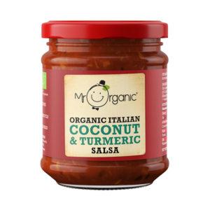 Molho de Coco e Curcuma Biológico Mr Organic 200g