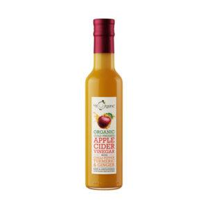 Vinagre Sidra com Chili Cúrcuma e Gengibre Biológico Mr Organic 250ml