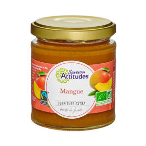 Saveurs Attitudes Organic Mango Jam 220g