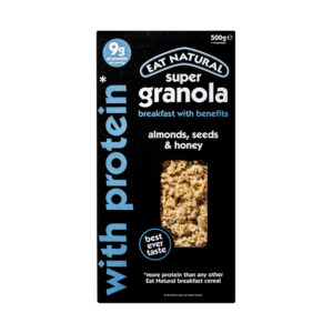 Eat Natural Granola with Almonds Seeds and Honey 500g