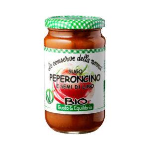 Le Conserve della Nonna Organic Tomato Sauce with Chilly Pepper and