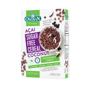Orgran Sugar Free Acai and Coconut Cereal 200g