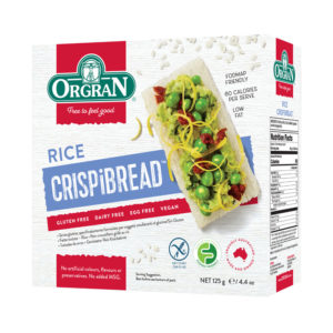 Orgran Rice Crispbread 125g
