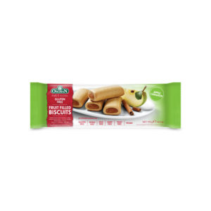 Orgran Apple and Cinnamon Fruit Filled Biscuits 175g