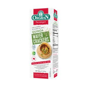 Orgran Quinoa Wafer Crackers 100g