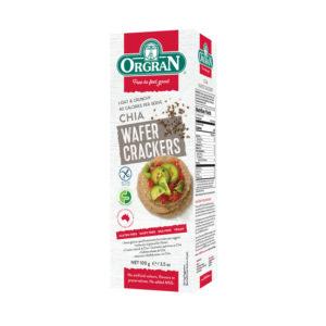 Wafer Crackers com Chia Orgran 100g