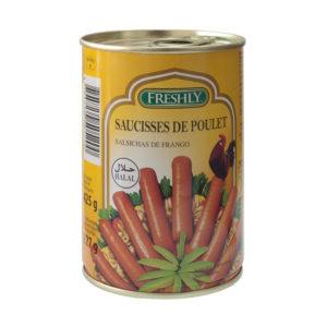Salsichas Frankfurt de Frango Freshly Halal Robert 425g