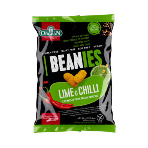 Orgran Beanies Lime and Chilli  80g