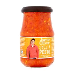 Pesto com Chilli e Alho Jamie Oliver 190g