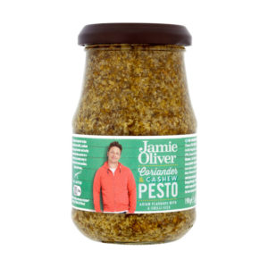 Pesto com Coentros e Cajús Jamie Oliver 190g