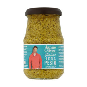 Pesto com Ervas Italianas Jamie Oliver 190g