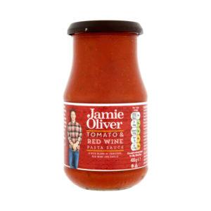 Molho para Massa de Tomate e Vinho Tinto  Jamie Oliver 400g
