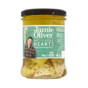 Antipasto de Corações de Alcachofra Jamie Oliver 280g