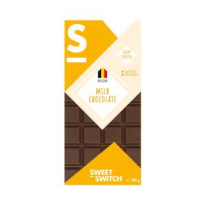 Chocolate de Leite Low Sugar Sweet Switch 100g