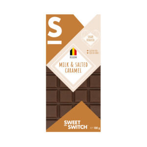 Chocolate de Leite com Caramelo Salgado Low Sugar Sweet Switch 100g