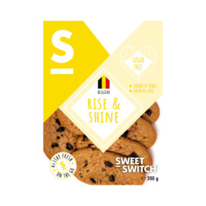 Sweet Switch Rise & Shine Sugar Free Biscuits 200g